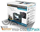 VICO-DS2  EZPack ドライブレコーダー / FULL HD 1080P高画質 エンドレス常時録画型、G-Sensor、手動緊急録画機能搭載.日本語取扱説明書付き