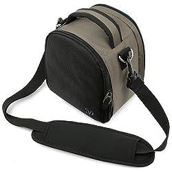 DSLR World Elegant Laurel Handbag Camera Bag with Rear Accessory Pocket and Shoulder Strap for Sony Alpha DSLR Camera Models A580 A560 A390 A450 A850 Sony Alpha DSLR-A500