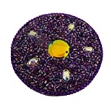 Indian Decorative Home Decor Round Travel Mirror Cosmetic Pouch Purple Vanity Mirror Christmas Gift