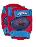 Ultimate Spiderman Kids Rollerskate, Junior Size 6-12 with Knee Pads