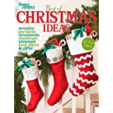 Best of Christmas Ideas (Better Homes & Gardens Crafts)