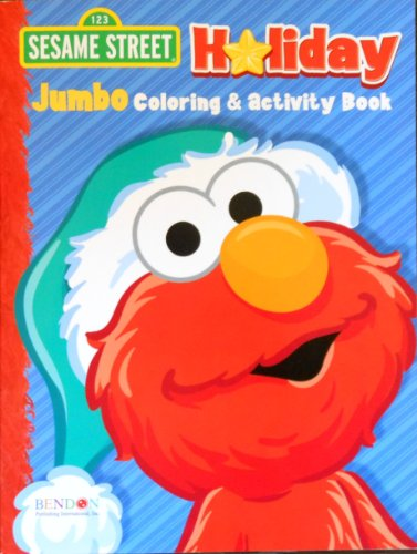 Sesame Street Holiday Elmo Coloring and Activity Book - 1
