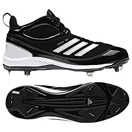 Adidas G21686 Excel 365 Metal Mid Baseball Cleats