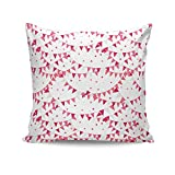 PosterGuy Party Flyer Pattern Quirky Graphic Art Cushion Cover