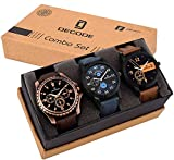 #8: Decode Combo of 3 Analogue Multicolor Dial Mens and Boys Watches-Combo of 3 Exclusive Watches
