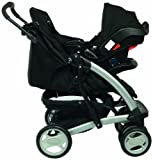 Graco Quattro Tour Deluxe Travel System (Black, 0 - 36 Months)