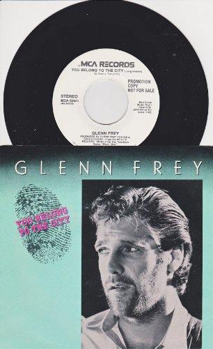 GLENN FREY - You Belong To The City (VLS) - Zortam Music