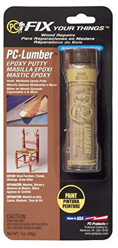 Pc Products Pc-Lumber Moldable Epoxy Putty, 1 Oz. Stick, Tan front-583037