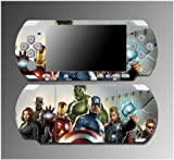 Avengers Captain America Iron Man Hulk Thor Video Game Vinyl Decal Sticker Cover Skin Protector for Sony PSP Slim 3000 3001 3002 3003 3004 Playstation Portable