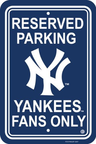 MLB New York Yankees Plastic Parking Sign at Amazon.com