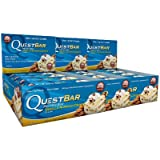 Quest Bar Vanilla Almond Crunch: Box of 12, Pack of 3