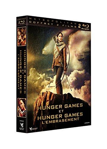 Hunger Games - Hunger Games 2 : L'embrasement Coffret 2 Blu-Ray