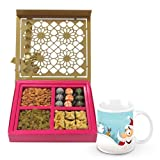 Sweet Magical Surprise Gift Box With Christmas Mug - Chocholik Chocolate Premium Gifts