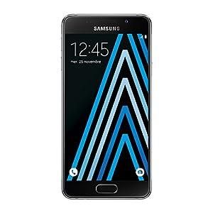 Samsung Galaxy A3 Smartphone débloqué 4G (Ecran: 4,7 pouces - 16 Go - Simple Nano-SIM - Android 5.1 Lollipop) Noir