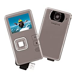 Creative Labs Vado Pocket Video Camcorder (Silver) OLD MODEL