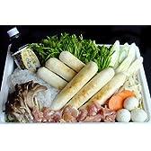 新米キリタンポ 比内地鶏肉 (太タイプ)きりたんぽ鍋3人前セット(消費税含む)