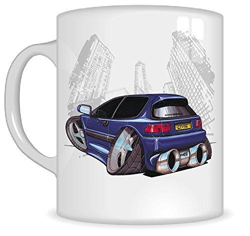 koolart-gifts-k004-mg-cartoon-of-honda-civic-car-caricature-blue-honda-mug-gift-for-men-car-mugs