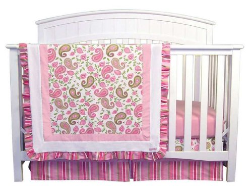 Paisley Crib Bedding Sets 172030 front
