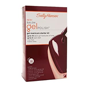 Sally Hansen Salon Pro Gel Starter Kit Wine Not - 1 Kit, Pack of 2