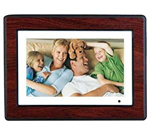 """HP DPF/750 Cadre photo 7"""" wide multimedia MP3-MP4 2 cadres supplementaires"""