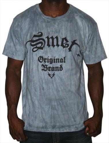 SMET Christian Audigier Mens Vintage Wash Original T-Shirt Tee Slate Sz L