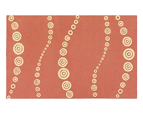 The Rug Market Martinique Tangerine Area Rug  Size 5'x8' - 1