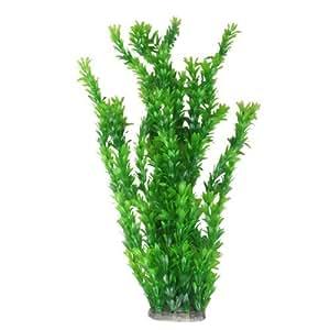 Green Plastic Plant Ornament Grass for Aquarium Fish Tank Decor