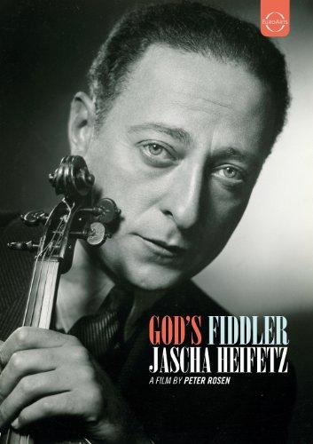 神のヴァイオリニスト - ヤッシャ・ハイフェッツ (God's Fiddler / Jascha Heifetz / A Film by Peter Rosen) [DVD] [輸入盤・日本語解説書付]