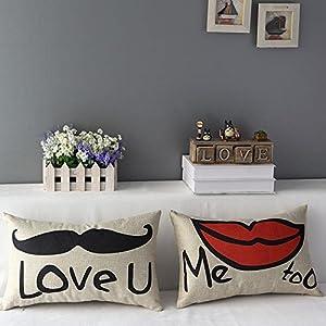 2 pcs cuscino cuscini federa arredo casa per salotto per - Federe cuscini divano ...