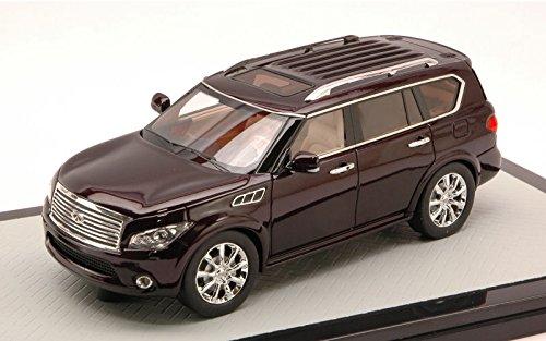infiniti-qx56-met-scuro-marone-modello-di-automobile-modello-prefabbricato-glm-143-modello-esclusiva