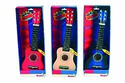 Simba Play A Guitar Wooden 6 Nylon, Multi Color (52cm)