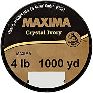 Maxima crystal ivory guide spool for Maxima fishing line