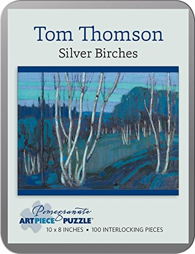 Tom Thomson: Silver Birches 100-piece Jigsaw Puzzle