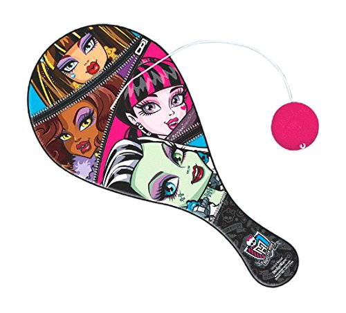 Amscan Freaky Fab Monster High Paddle Ball (1 Piece), Multi, 8 x 4""