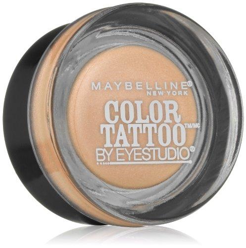 Maybelline New York Eye Studio Color Tattoo Metal 24 Hour Cream Gel Eyeshadow, Barely Branded, 0.14 Ounce