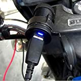 E-Bro 12V Waterproof Motorcycle HandleBar Cellphone USB Charger Power Adapter
