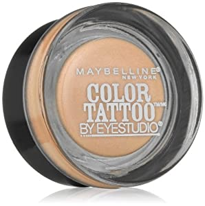 Maybelline new york eye studio color tattoo for Maybelline color tattoo barely branded