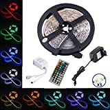 LED Streifen set, 5M 5050 RGB LED Strip lights,Led Band mit...
