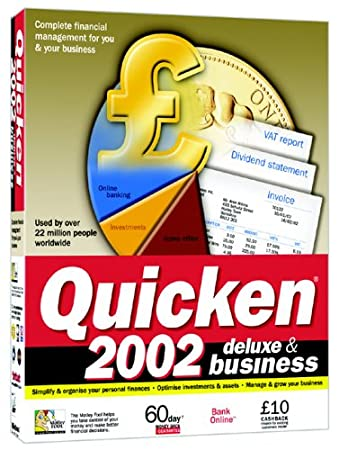 Quicken 2002 Deluxe & Business