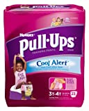 Huggies Pull-Ups Cool Alert Training Pants Jumbo Pack Size 3T-4T Girl 23ct.