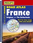 Philip's Road Atlas France, Belgium a...