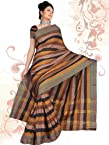 Masrise Cotton Plain Border - 6 - Saree
