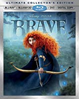 Brave Five-disc Ultimate Collectors Edition Blu-ray 3d Blu-ray Dvd Digital Copy from Buena Vista