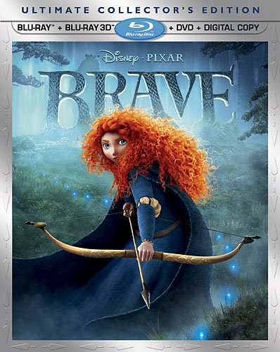 Brave (Five-Disc Ultimate Collectors Edition: Blu-ray 3D / Blu-ray / DVD + Digital Copy)