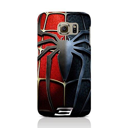 Samsung Galaxy S6 Edge Plus Case Cover,Classical Spider Logo Design 3D Comic Spiderman Phone Case Cover for Samsung Galaxy S6 Edge Plus Hot Superhero