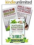 NATURAL REMEDIES: A Box Set of: Natural Remedies, Essential Oils, Apple Cider Vinegar (Home Remedies Book 1)
