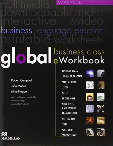 Global. Business Class Eworkbook. Advanced Level - Edition 2013