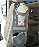 BDS – Car Seat Side Organizer (Space Saver) + One Free BDS Plastic Portable Water Bottle Holder / bottle Suspender Holder Clip Reviews