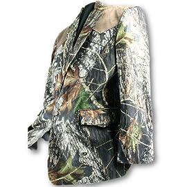 Camo Sport Coat Blazer