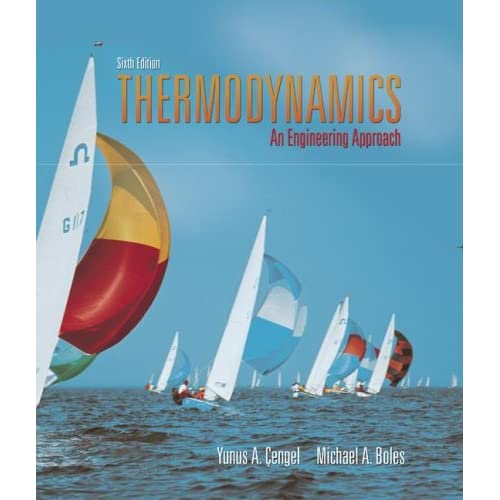 Book Cover: [share_ebook] Thermodynamics: An Engineering Approach with Student Resource DVD (SOLUTION MANUAL)